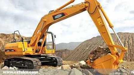挖掘机工作超长视频表演大全 工程车 推土机 消防车 挖土机玩具视频