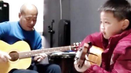 老黑吉他―【父亲】(老黑与学生滟骋)