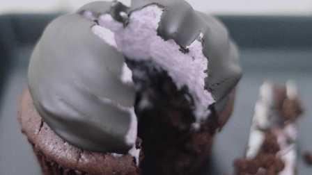 第20期:黑莓巧克力纸杯蛋糕