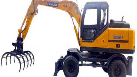 挖掘机工作超长视频表演大全 工程车 推土机 消防车 警车 挖土机玩具视频