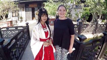 俄罗斯一家人在中国广州的生活