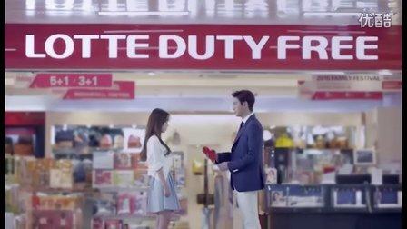 蓝色大海的传说 李敏镐与全智贤合拍的广告