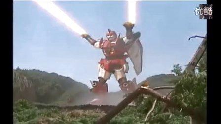 童年动漫回忆 超星神18集 超星神 迦楼罗礼拜亚索VS刚特拉斯 炫酷打斗场面