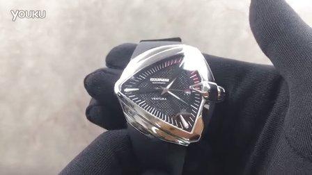 手表之家 汉密尔顿探险系列 独特三角型外壳 潮流个性男士机械手表