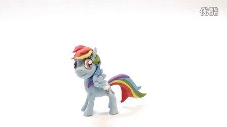 云宝黛茜神奇橡皮泥彩虹小马My Little Pony小马宝莉【童年的模样】