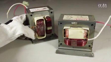 用微波炉变压器自制电焊机