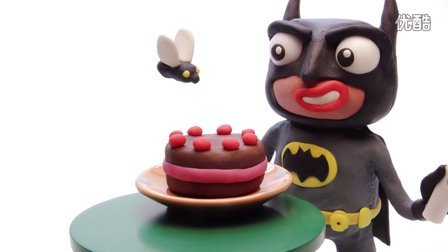 绿巨人蛀牙,蝙蝠侠橡皮泥搞笑超人蜘蛛侠帮打针