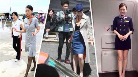 女星穿空姐制服谁最性感迷人?