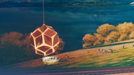 《東西》【创意灯饰】— 手工五角星纸灯