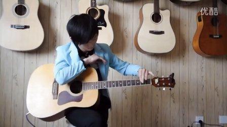 指弹吉他打板技巧之-押尾光太郎AM指法-详解教学 嘉森琴行(郑州店)