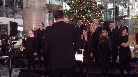 奥斯陆国际机场的圣诞演唱会