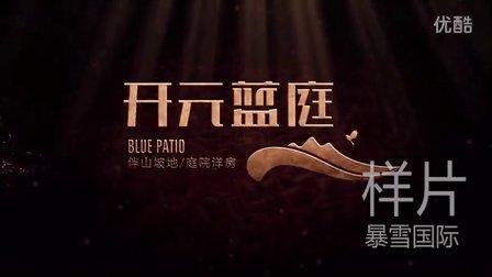 【徐州暴雪国际案例展示】开元蓝庭样片