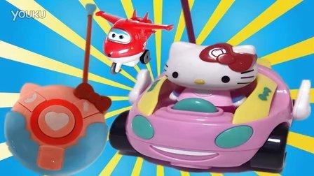 遥控车 凯蒂猫玩具车