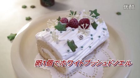 圣诞蛋糕 One-Egg White Bush de Noel