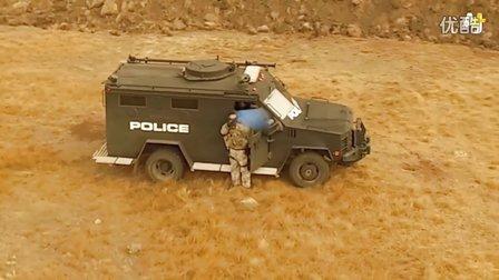 原住民用无人机监控北达科他州警察行动(抗议油管过境)