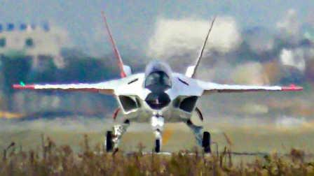 日本三菱ATD-X·X-2验证机7日于岐阜基地进行第4次试飞