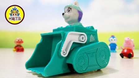 雪橇犬 狗狗巡逻队 卡通汪汪队立大功 救援队汪汪队立大功玩具车小汽车