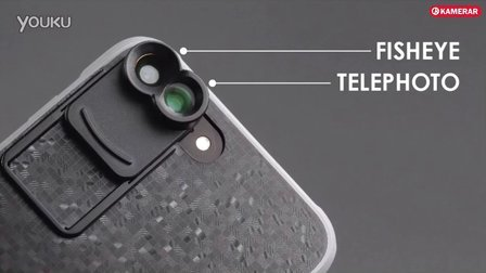 卡米拉双镜头手机镜头Kamerar ZOOM Lens Kit for iPhone 7 Plus