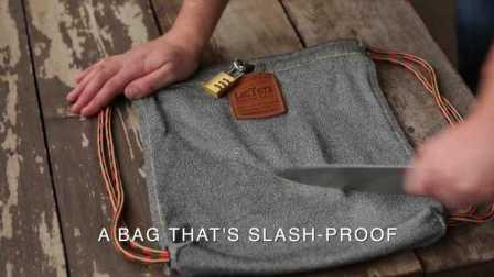 刀枪不入,防水防盗,它还只是一款包!