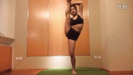 李柔柔形体体能 表演教学有无基础训练30