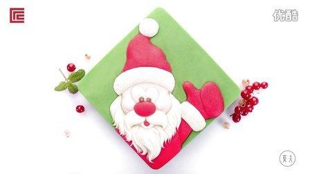 莫夫教室- 圣诞老人选型蛋糕制作流程