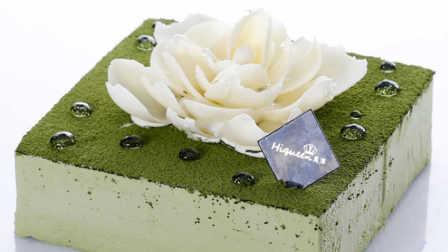 浓情高颜值的抹茶慕斯蛋糕,自己在家也可以轻松做。