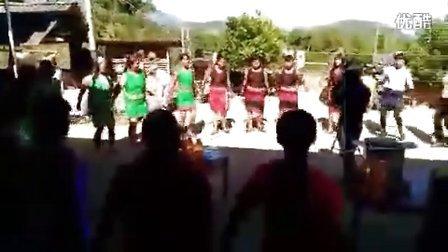 耿马傣族佤族自治县贺派乡芒底村帮美一组打歌