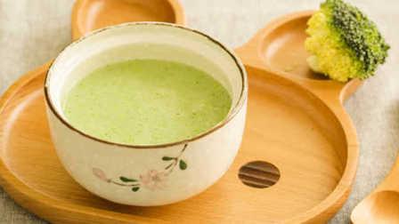 透着米汤香的营养辅食 西兰花米饮 42
