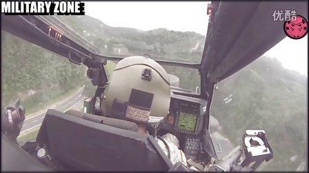 阿帕奇低空飞行(驾驶舱视角)