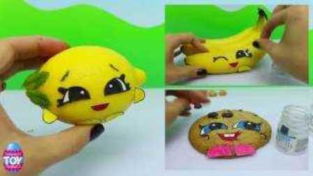 购物精灵 在真实生活中 Pippa  柠檬 儿童 Shopkins In Real Life Pippa Lemon