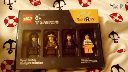 玩具反斗城赠送乐高人仔开箱。。