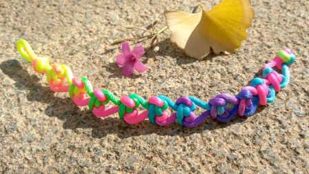 手工成品04:爱心手链的编法  中国结编绳手链视频教程【金金说】