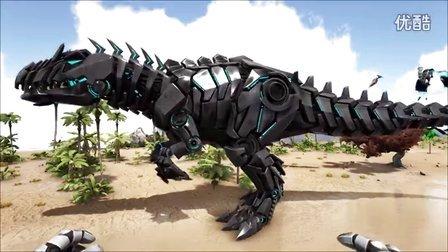 【肉搏快乐】方舟:恐龙1225大陆坦克世界