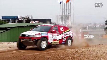 众泰T600越野车队COC厦门集美站视频
