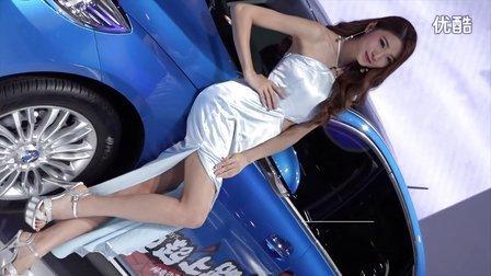 ⎡车模秀⎦腾势汽车长腿长裙车模.2016广州车展