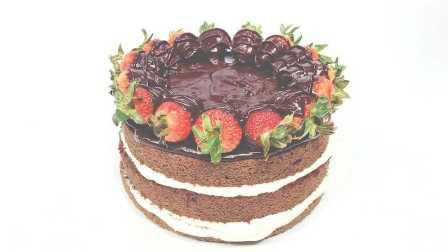 嫩食记——草莓巧克力蛋糕