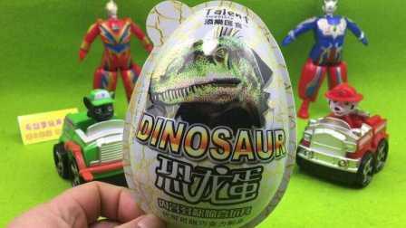 奥特曼玩具 004 奥特曼英雄军团 汪汪队立大功狗狗巡逻队 拆侏罗纪世界恐龙蛋奇趣蛋玩具