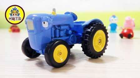 新玩具驾到 2016 欧力合金车 加斯洛拖拉机