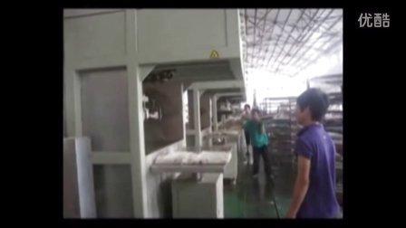必硕科技纸浆模塑半自动工业品内衬防震包装生产线