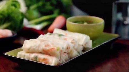 厨神戈登拉姆齐烹饪中国鲜虾卷,跨越国际的美食,名厨如何烹饪?