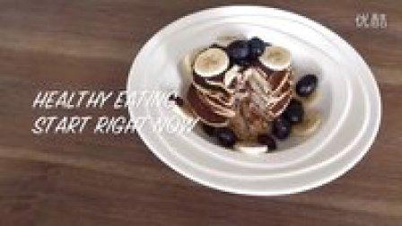 无面粉健康香蕉燕麦薄饼|How To Make Healthy Banana Oats Pancake❤flourless❤| Irisnan❤