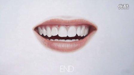 彩铅绘制微笑的嘴巴(高级篇)