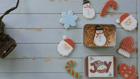 君之烘焙日记 2016 圣诞糖霜饼干 10
