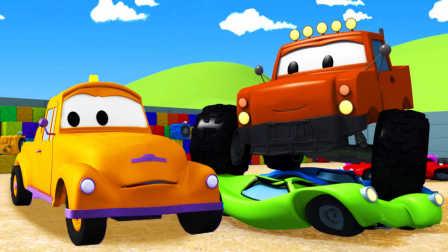 拖车汤姆 和 大脚卡车
