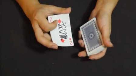 泡妞神技!扑克牌显字魔术教学!强烈推荐!