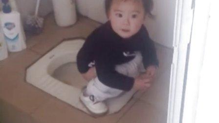 陈宛柔 第一次学会自己上厕所