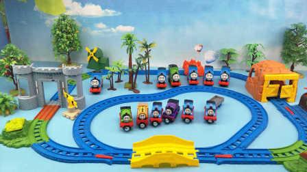 托马斯小火车 托马斯和他的朋友们城堡寻宝