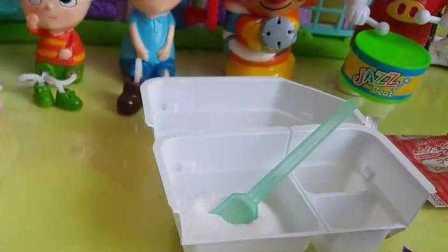 宝宝厨房玩具 小马宝莉学习发糕的做法 数码宝贝 宠物小精灵 巴啦啦小魔仙