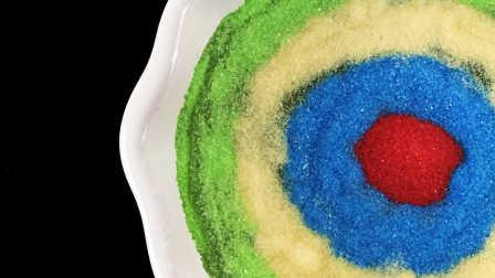 月采亲子游戏 2016 一起来学做七色果冻小蛋糕 来学做七色果冻小蛋糕