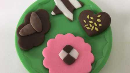 玩具视频 橡皮泥手工制作美味曲奇饼干 奶油饼干 亲子游戏
